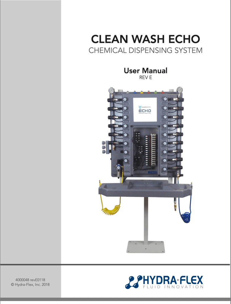 4000048_CleanWashECHO-UserManual