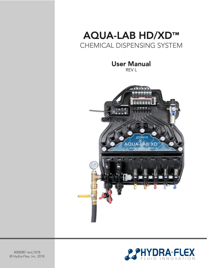 4000087_Aqua-Lab_HD-XD_Manual_RevL1018